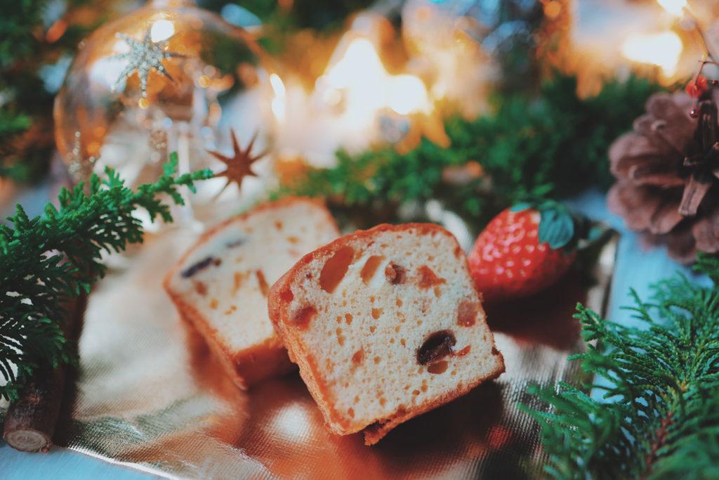 """""""ケーキのないクリスマス""""〜イチゴとパウンドケーキの共演〜"""